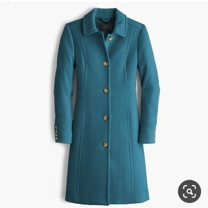 J. Crew Double Cloth Lady Day Coat, Size 4